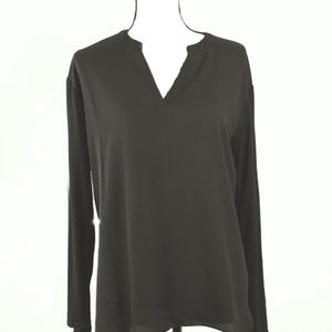 Black Tunic Top by INC International Concepts M
